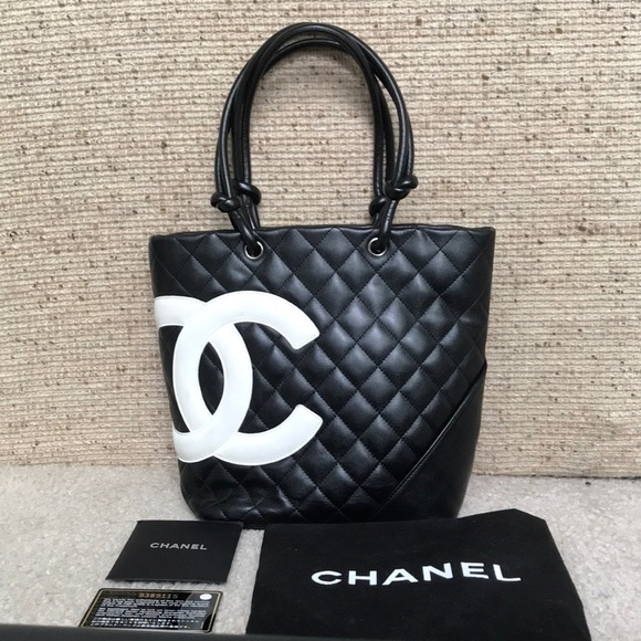 fa7bfbda0c6c CHANEL Handbags - 💯AUTHENTIC CHANEL Cambon Ligne Medium Tote